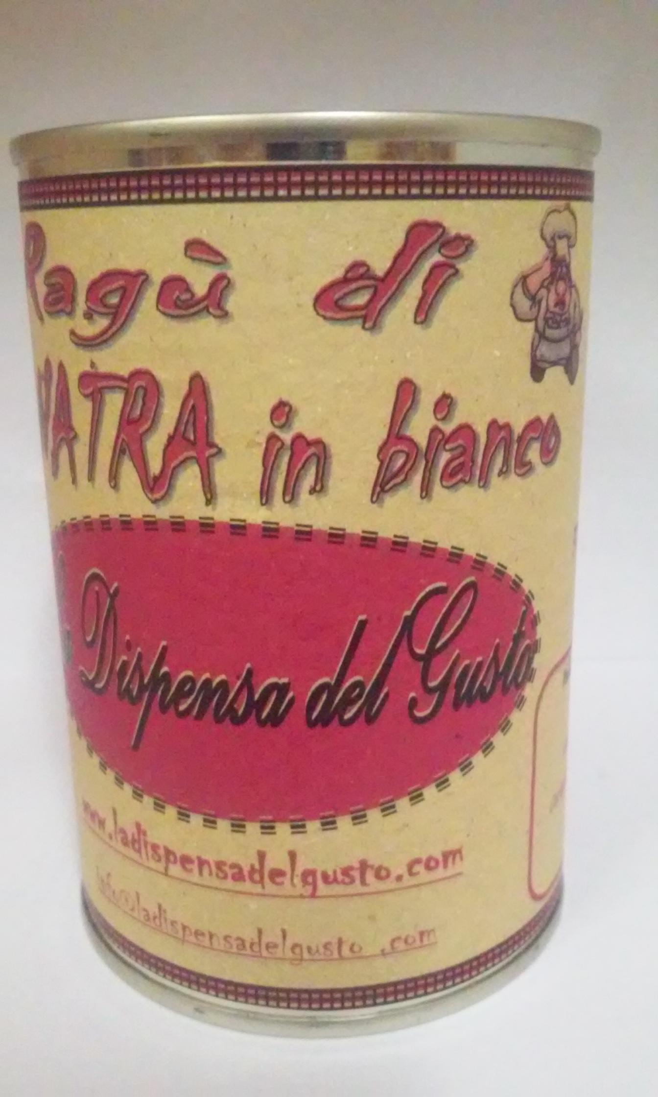 Ragù D'anatra In Bianco